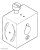 Drill guide block - for 11.1 mm mast spars - standard