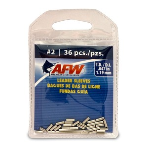 #2 Sleeves - Crimps for A045-0 Stranded Wire - 36/pack